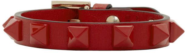 Valentino Red Garavani Single Rockstud Bracelet