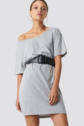 NA-KD One Shoulder T-shirt Dress
