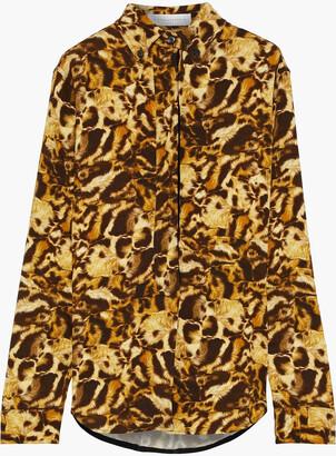 Victoria Beckham Printed Cady Shirt