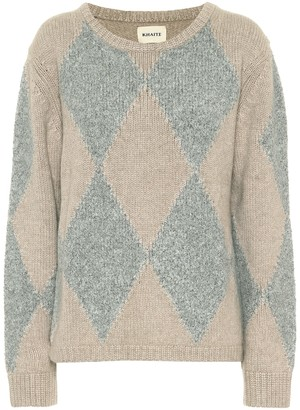KHAITE Daisy cashmere and silk sweater