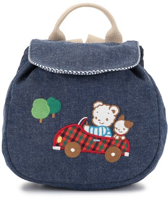 Familiar Bear Patch Backpack
