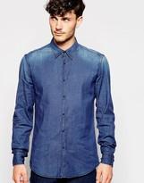 Antony Morato Denim Shirt - Blue