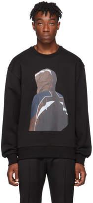 Juun.J Black Karel Funk Print Sweatshirt