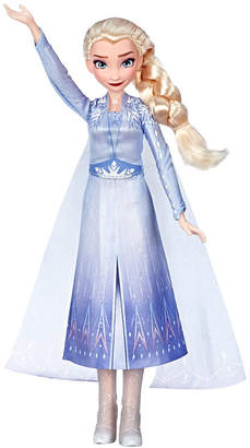 Disney Frozen Singing Elsa Fashion Doll with Music Wearing Blue Dress Inspired by Disney Frozen 2 Movie