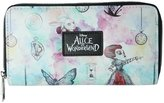 Disney Alice in Wonderland Through the Looking Glass Zip Wallet
