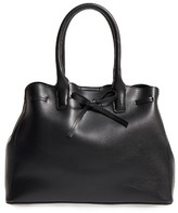Sole Society Layton Faux Leather Satchel - Black