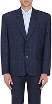 Balenciaga Men's Glen Plaid Wool Three-Button Sportcoat