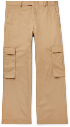 Martine Rose Checked Virgin Wool Cargo Suit Trousers - Men - Neutrals
