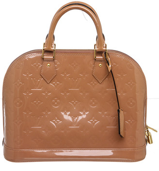 Louis Vuitton Red Leather Alma Pm