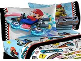 Nintendo Super Mario Road Rumble Reversible Pillowcase