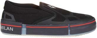 Marcelo Burlon County of Milan Cross Vulcanized Slip-on Sneaker