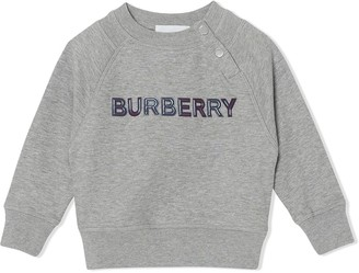 Burberry logo sweatshirt