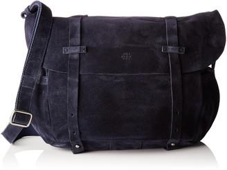 Mila Louise Women's 3024V Cross-Body Bag Blue Bleu (Mure)