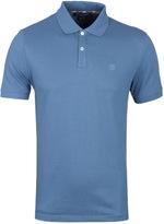 Aquascutum Hilton Blue Pique Polo Shirt