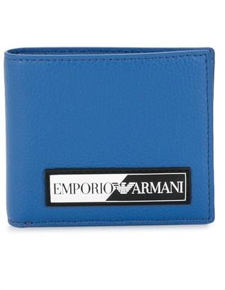 Emporio Armani Bifold Logo-Patch Wallet