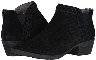 Earth Peak Perry (Black Premium Cow Suede/Calf PU) Women's Shoes