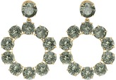 Tory Burch Stone Wreath Drop Earrings