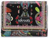 Sakroots Women's Artist Circle Small Trifold Wallet
