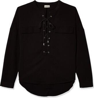 Noisy May Women's Alba China Collar Shirt