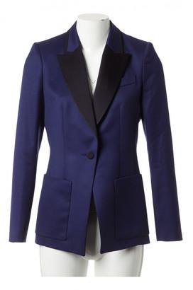 Pallas Blue Wool Jackets