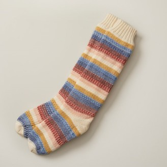Indigo Alphaville Striped Reading Socks Multi
