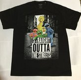 Sesame Street Straight Outta The Streets Muppets Men's Graphic T-Shirt (M)