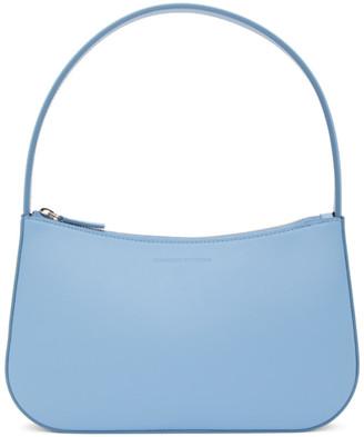 Kwaidan Editions Blue Grainy Faux Leather Lady Bag