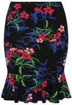 George Printed Jersey Flippy Hem Skirt