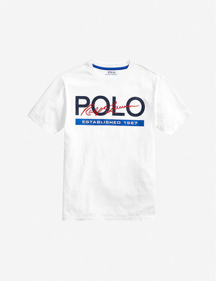 Ralph Lauren Logo-print cotton T-shirt 2-14 years