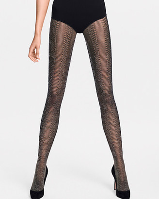 Wolford Jennifer Glitter Net Tights