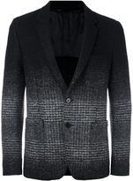 Dondup ombre tweed blazer