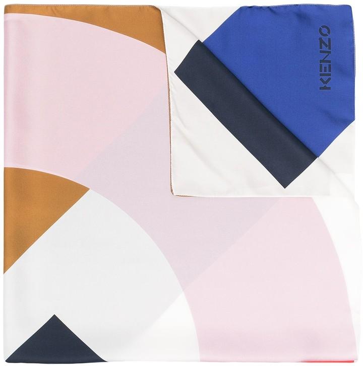 Kenzo Colour-Block Scarf