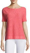Eileen Fisher Organic Linen/Cotton Box Top