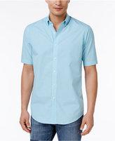 Club Room Men's Skylark Big & Tall Gingham Shirt, Only at Macy's