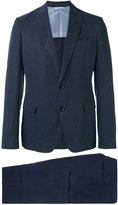 Armani Collezioni two piece suit - men - Linen/Flax/Polyester/Polyurethane/Lyocell - 48