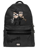 Dolce & Gabbana Designers Patches Nylon Backpack