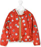 K Way Kids - printed bomber jacket - kids - Polyamide/Polyester - 4 yrs
