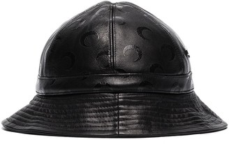 Marine Serre Logo Pattern Bucket Hat