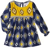 Masala Ooty Dress (Baby) - Navy - 18-24 Months