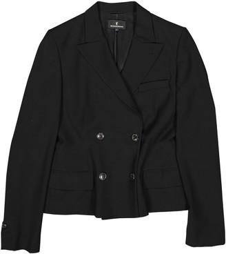 Wunderkind Black Wool Jacket for Women