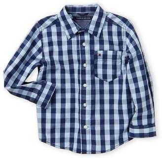 Tommy Hilfiger Toddler Boys) Anton Long Sleeve Plaid Shirt