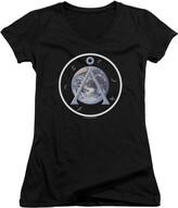Thumbnail for your product : Stargate SG1 - Juniors Earth Emblem V-Neck T-Shirt Medium