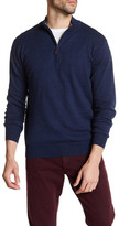 Peter Millar Regular Fit Quarter Zip Sweater