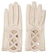 Hermes Lambkin Cutout Gloves