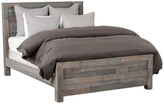 Kosas Home Norman Reclaimed Pine Eastern King Bed, Distressed Charcoal by H