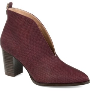 Journee Collection Women's Bellamy Booties Women's Shoes