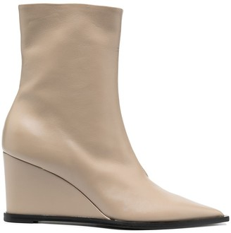 Dorothee Schumacher Pointed Wedge-Heel Boots