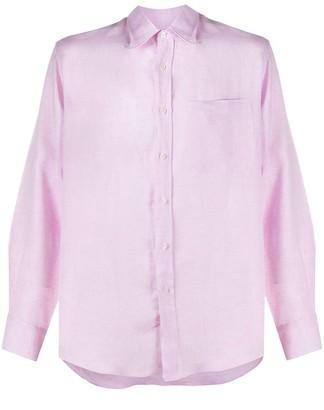 Missoni Slim-Fit Linen Shirt