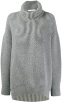 Givenchy oversized funnel neck jumper