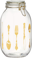 Global Amici Luxe Utensil Large Wesbter Hermetic Glass Canister
